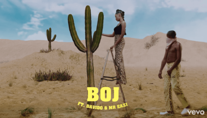 Boj - Abracadabra featuring Davido & Mr Eazi