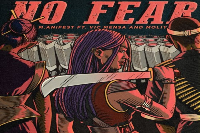 """M.anifest – """"No Fear""""featuring Vic Mensa and Moliy"""