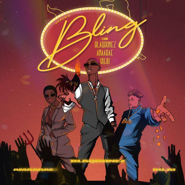 "Blaqbonez - ""Bling"" Feat. Amaarae & Buju"