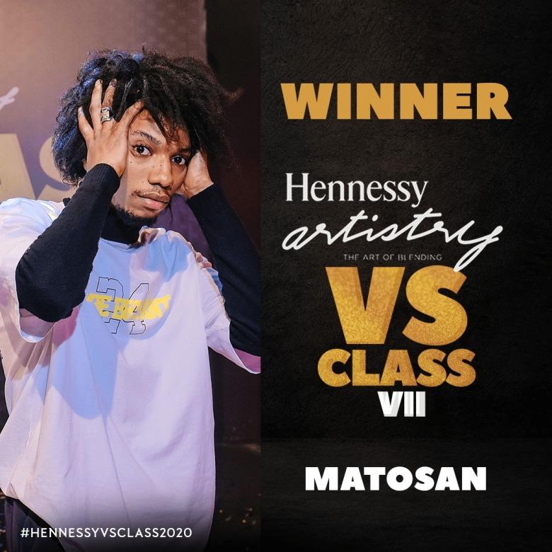 Hennessy Artistry VS Class - Matosan Emerges Winner of Season VII henny
