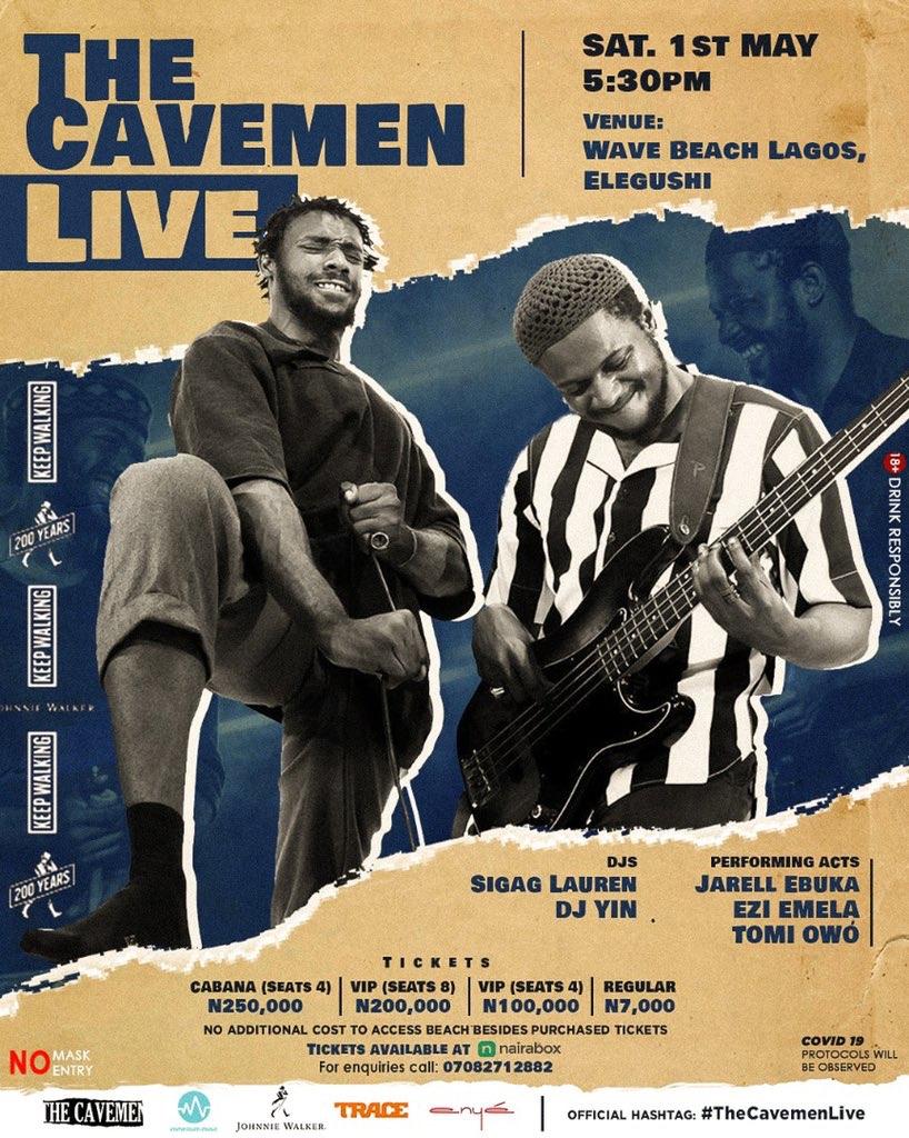 The Cavemen Live Concert
