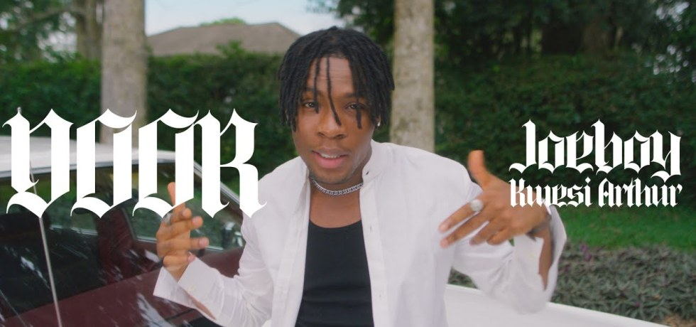 "Joeboy - ""Door Remix"" featuring Kwesi Arthur"