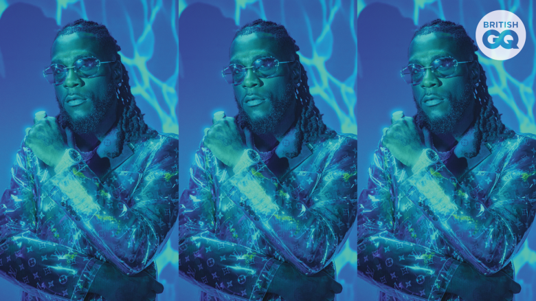 Burna Boy is on the Cover of British GQ Magazine (June Edition)
