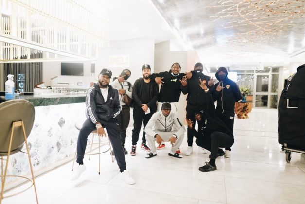 Davido Pays a Visit to South Africa with his Crew