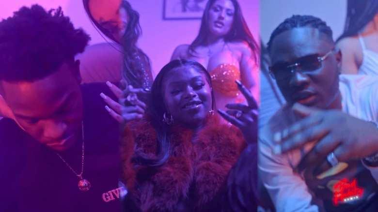 TiZ East - Bad Habits (Remix) (ft. Moelogo & Nadia Rose) [Music Video]