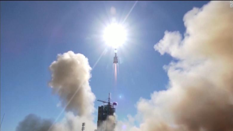 China successfully launches mission sending astronauts to new space station