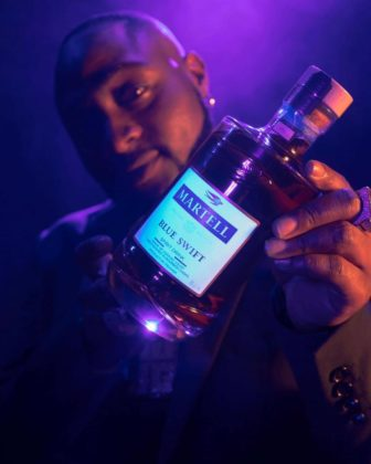 Davido Inks New Endorsement Deal with Martell