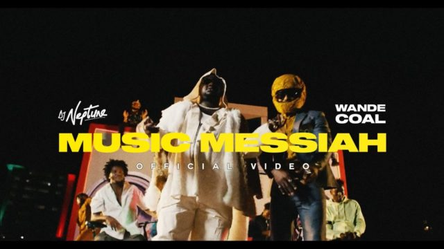 """DJ Neptune and Wande Coal Release Video for """"Music Messiah"""""""