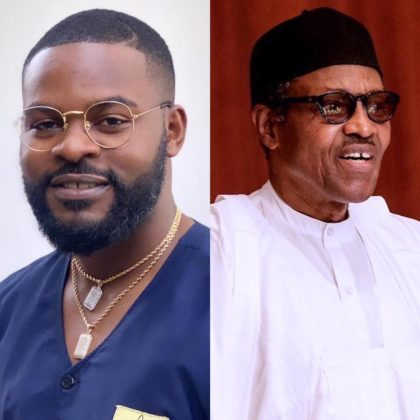 #IamIgboToo: Falz Objects to President Buhari's Threat Message, Demands Accountability