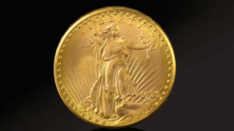 US Double Eagle gold coin sold for record $18.9m