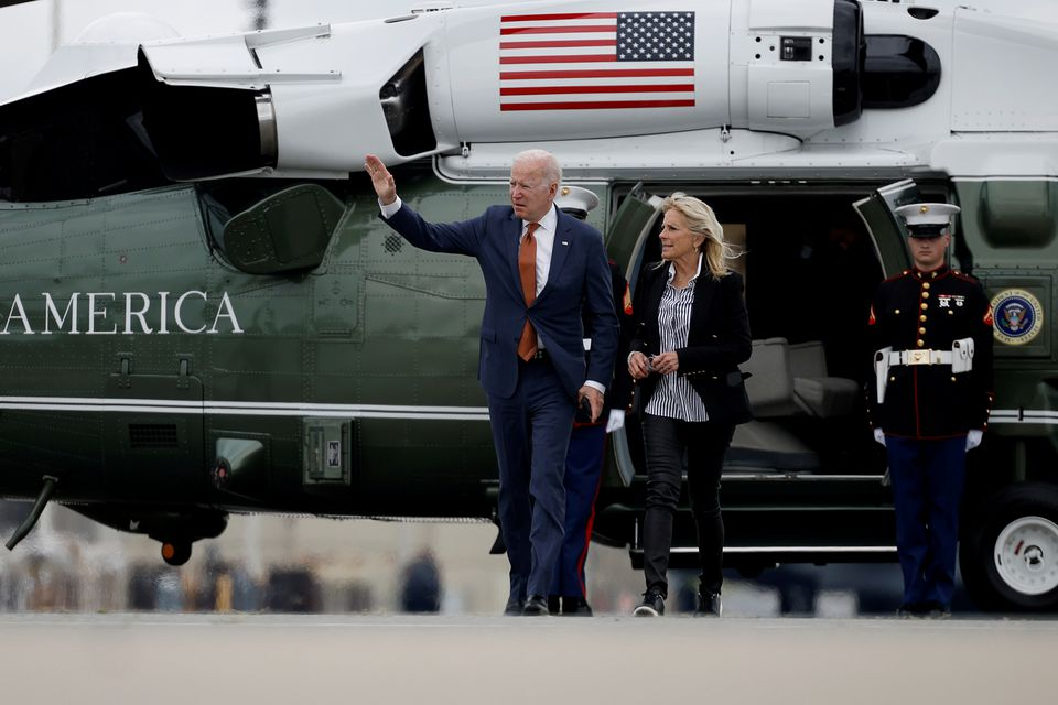 With G7 summit the first stop, Biden embarks on 8-day trip to Europe