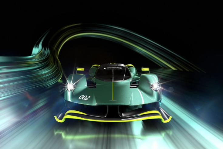 Aston Martin on steroids! A new version of the hypercar, on which the top engineer F-1 worked