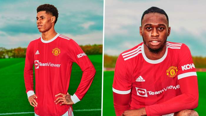 Manchester United Unveils New Jersey for 2021/2022 Season