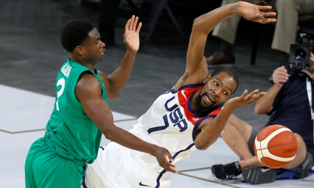 Nigeria spring historic upset of USA men's basketball in Olympic tune-up