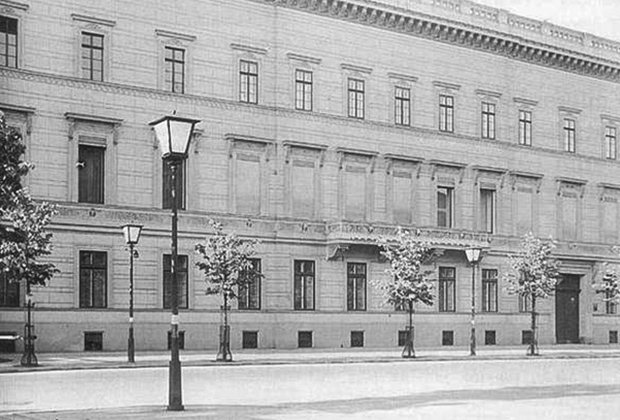 The building of the USSR embassy in Berlin