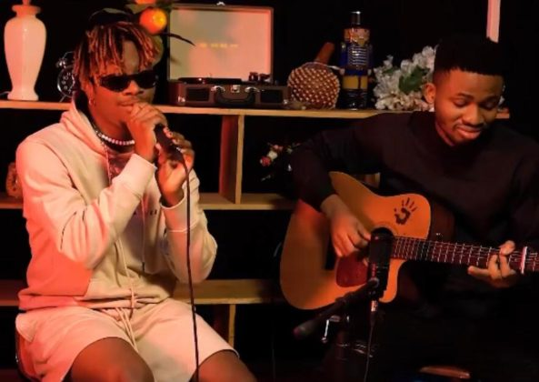 """Watch Oxlade's Soul-Stirring Acoustic Performance of """"Frenemies"""""""