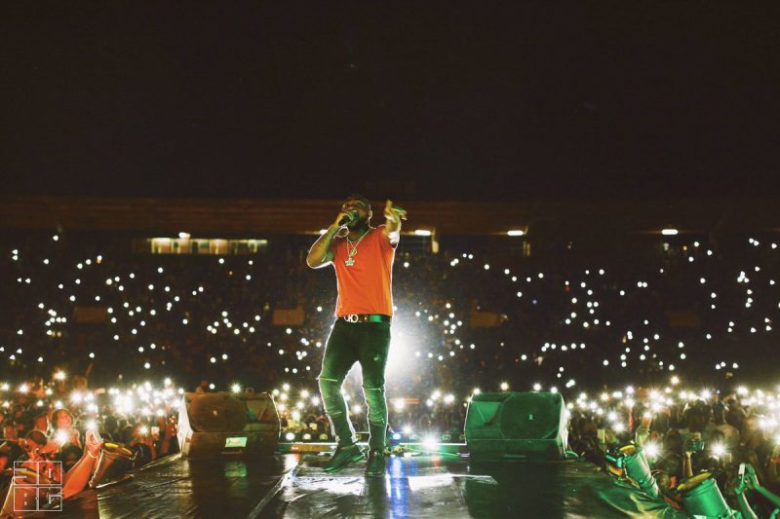 Davido Hits the Stage in The UK for First Time in Two Years