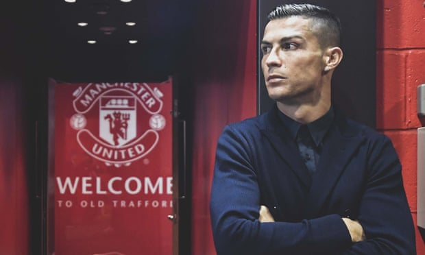 OFFICIAL: Manchester United Completes the Signing of Cristiano Ronaldo