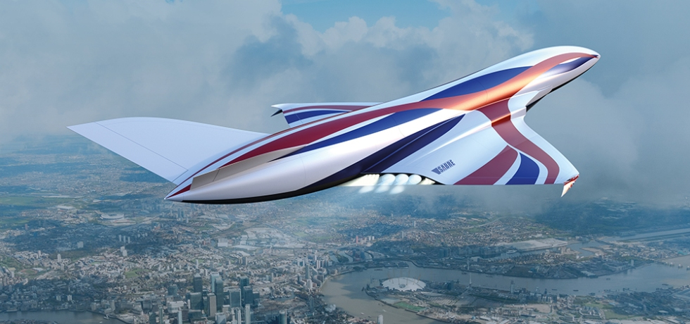 This New Hypersonic 'Space Plane' Can Get You From New York to London in One Hour