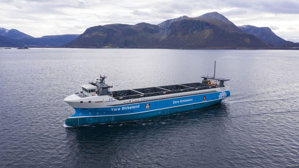 World's first crewless, zero emissions cargo ship will set sail in Norway