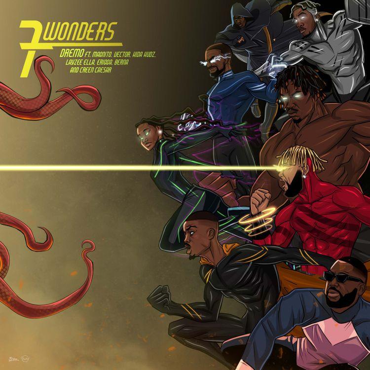 """Dremo - """"7 Wonders"""" (EP)"""