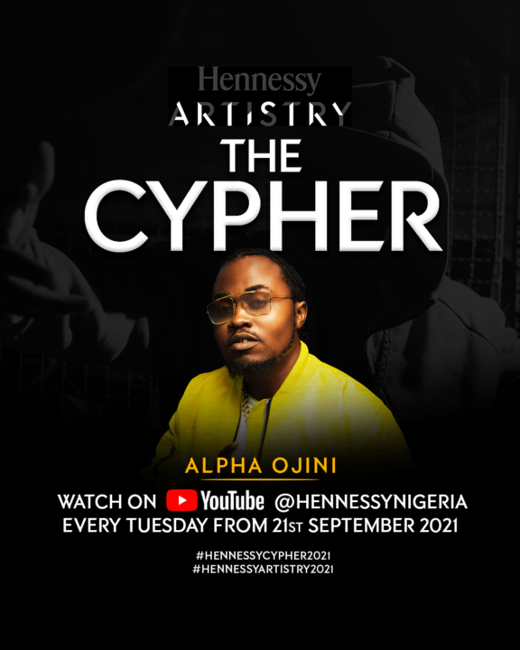 Hennessy Artistry 2021 Cyphers - Meet the Artists (Alpha Ojini)