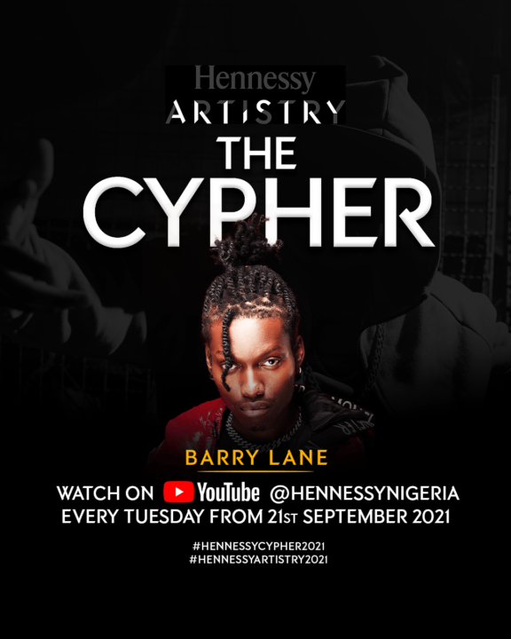 Hennessy Artistry 2021 Cyphers - Meet the Artists (Barry Lane)