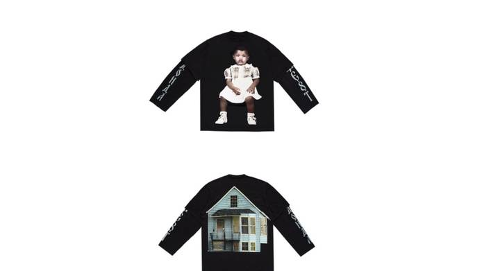 Kanye West and Balenciaga team up once again for Donda merch