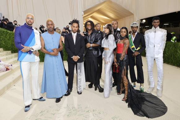 Law Roach, Lewis Hamilton, Kehlani and Guests in Hublot, courtesy of the brand