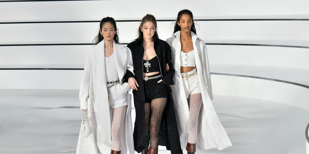 Luxury brands return to live show format at Paris Fashion Week