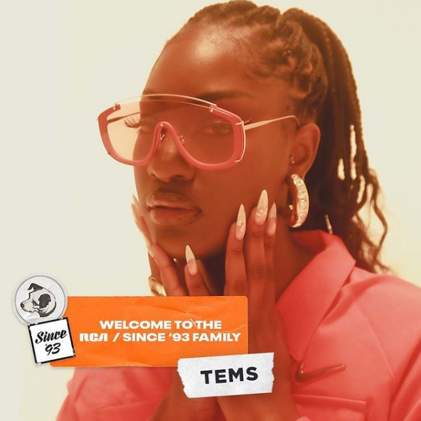 RCA Records Signs New Deal with Afro Pop Star, Tems
