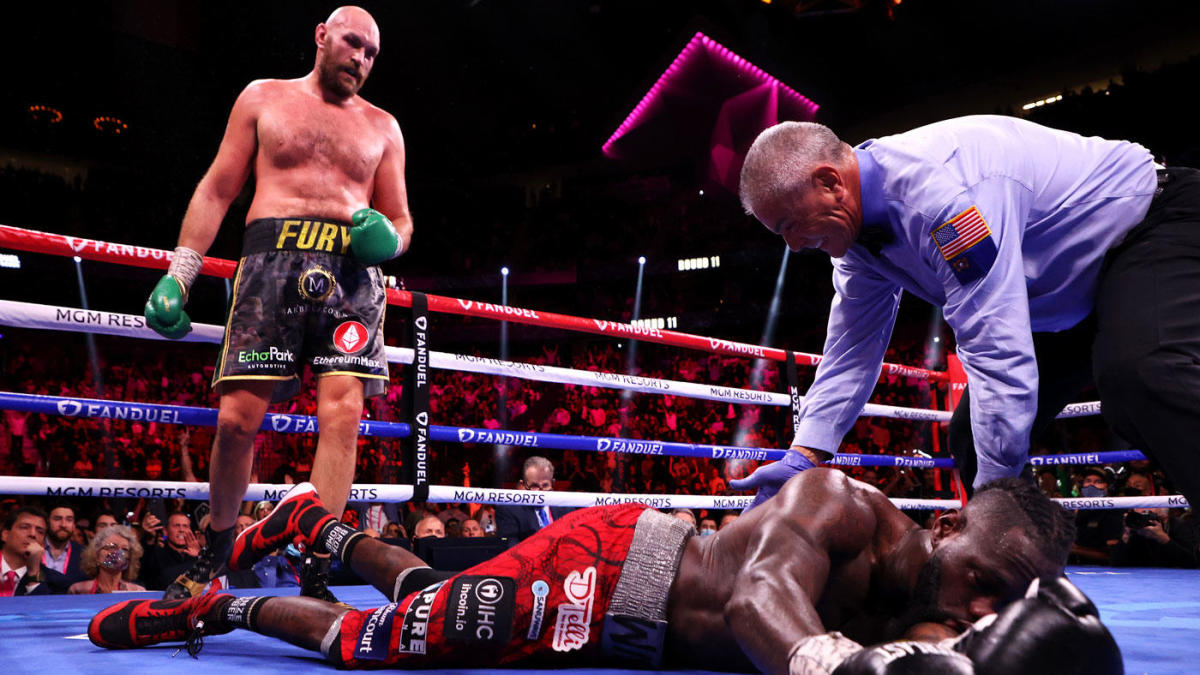 Tyson Fury vs. Deontay Wilder 3 fight results: 'Gypsy King' rallies to TKO 'Bronze Bomber' in epic thriller